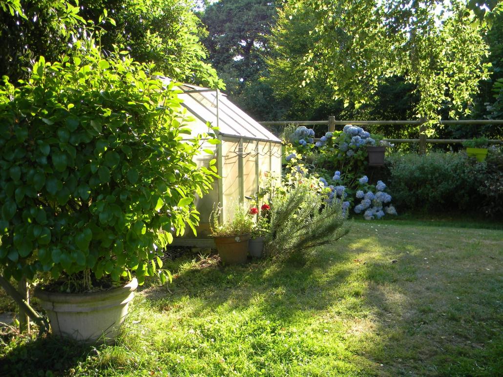 Vacances chambres d'hôtes Lorient Hennebont Auray Kervignac - Les Jardins du Cloestro -Grand Parc avec jardins