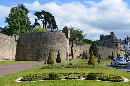 Les remparts d' Hennebont à découvrir - Séjour en maison d'hôtes Bretagne Sud - Les Jardins du Cloestro - Kervignac